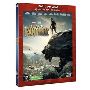 BLU-RAY FILM black panther marvel blu ray 3d et 2d 2018