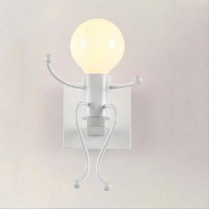APPLIQUE  ss-33-Applique Murale Robot Lampe de fixation en f