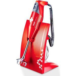 MIXEUR ÉLECTRIQUE BAMIX - Mixeur plongeant M200 SwissLine Rouge