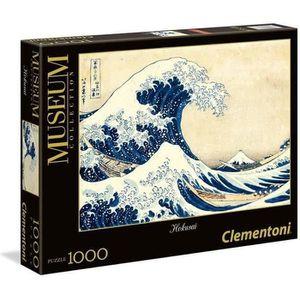 PUZZLE CLEMENTONI Collection Museum Hokusai La Grande Vag