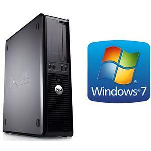 UNITÉ CENTRALE  Dell Optiplex 755 Desktop - 250 Go - Windows 7