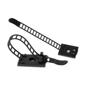 OUTILS - FIXATION Attache-Cable avec Fixation Auto-adhésive - 64 mm