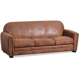 canape club vintage achat vente pas cher. Black Bedroom Furniture Sets. Home Design Ideas