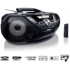 RADIO CD CASSETTE PHILIPS AZ787 Lecteur CD / K7 / USB