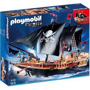 UNIVERS MINIATURE PLAYMOBIL 6678 Bateau pirates des ténèbres