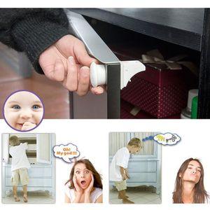 BLOQUE TIROIR Serrures de sécurité Magnetic Baby Child Cupboard