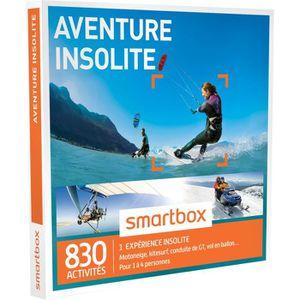 COFFRET SPORT - LOISIRS Coffret Cadeau - Aventure insolite - Smartbox