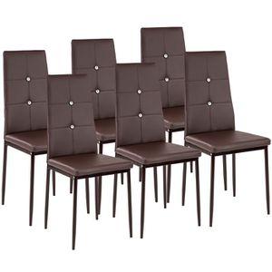 Chaise de cuisine marron - Achat   Vente Chaise de cuisine marron ... 10e1ba36bccc