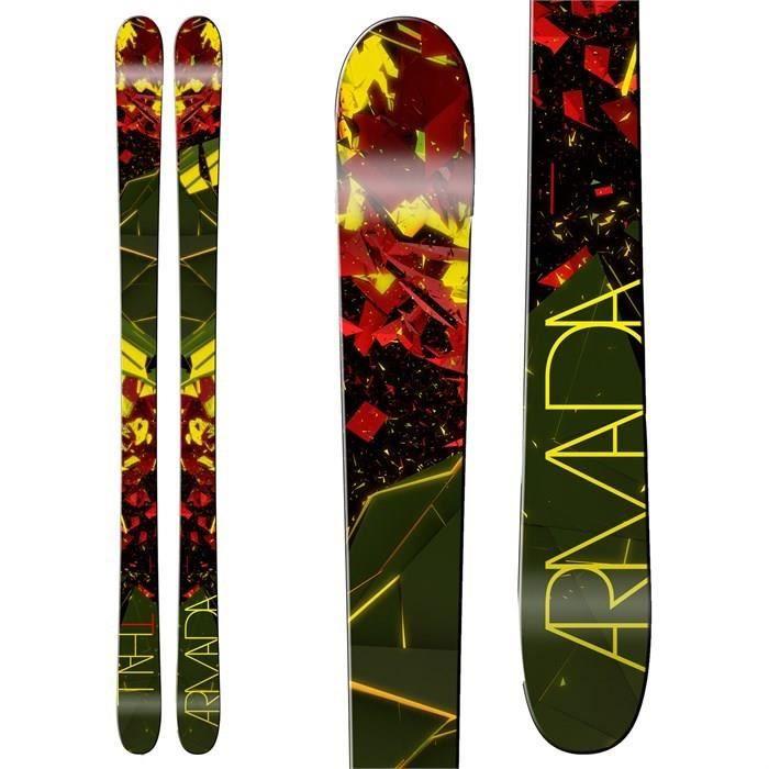 ARMADA Skis Thall Noir et Jaune
