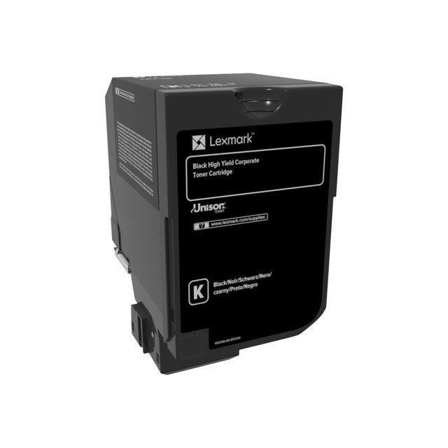 LEXMARK Cartouche de toner CS720 CS725 Corporate - Haute Capacité 20K - Noir