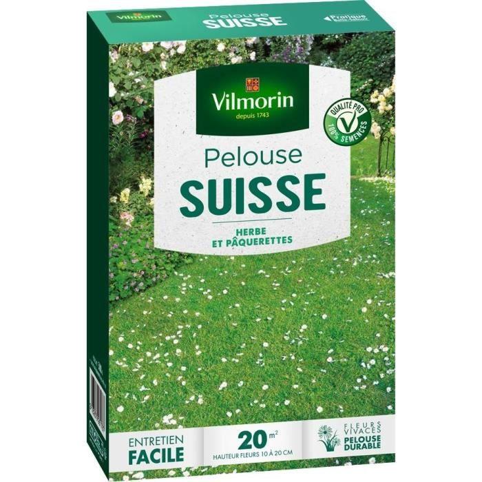 Vilmorin semences de pelouse suisse pâquerettes