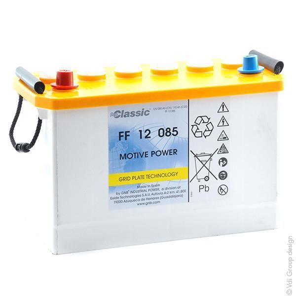 BATTERIE MACHINE OUTIL Batterie plomb traction FF12085 12V 85Ah