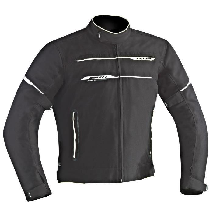 Zetec Ixon Tailles Grandes 2xl Moto Noirblanc Hp C c Blouson Pq7IRw