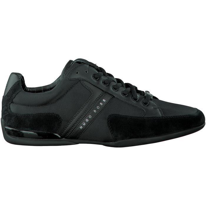 1953fe78b9ef Hugo Boss Chaussures à lacets 50247632 Noir Noir - Achat   Vente ...