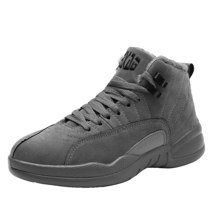 Sneakers en peluche Chaussures de sport pour hommes automne et hiver taille 39-44 W0ykH