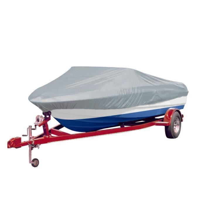 Housse pour bateau gris 488-564 cm