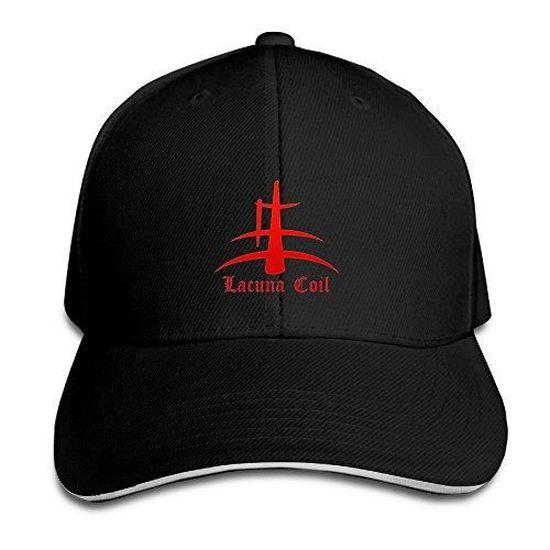 00401cc35cbc2 ASCHO2 unisexe italien bande de métal réglable Snapback Sandwich Bill Cap  Sun Hat Cap - Noir Royalblue - Achat   Vente casquette 2009572229787 -  Cdiscount