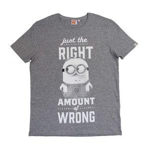 T-SHIRT LES MINIONS T-shirt Homme - Gris