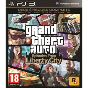 JEU PS3 GTA IV : Episodes From Liberty City PS3