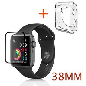 VITRE MONTRE CONNECTÉE Coque transparente souple silicone gel apple watch