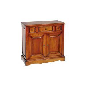 Petit meuble merisier achat vente petit meuble for Petit meuble 2 tiroirs