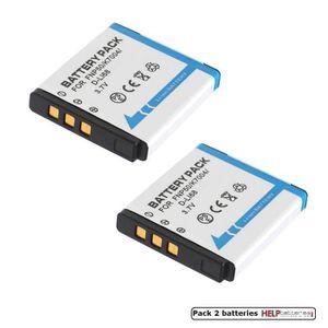 BATTERIE APPAREIL PHOTO Batterie pour Appareil photo Kodak Klic-7004 pack