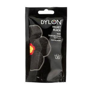 TEINTURE TEXTILE Teinture à la main NOIR (Velvet Black) PRO Dylon t
