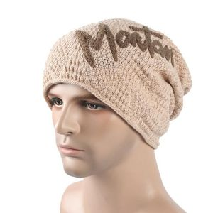BONNET - CAGOULE YJL61013767BG® Hommes femmes extérieur tricot bonn ... af7e40f970e