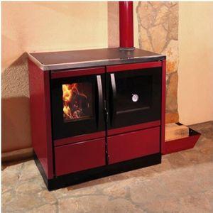 INSERT - FOYER Cuisinière à bois 12 kW, charbon, briquette RUBINA
