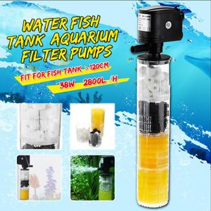 FILTRATION - POMPE TEMPSA 3 en 1 Filtre Pompe Pour Aquarium Poisson>1