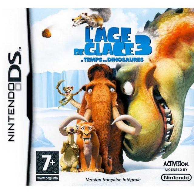 JEU DS - DSI AGE DE GLACE 3 : Le temps des dinosaures / JEU CON