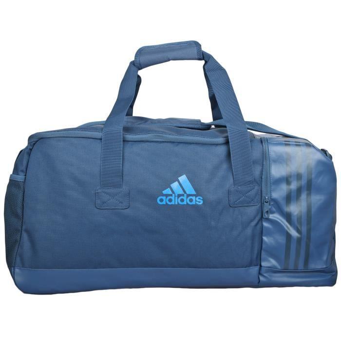 d928be5212 adidas Performance 3-Stripes Team Bag Medium Sac de sport bleu AJ9994