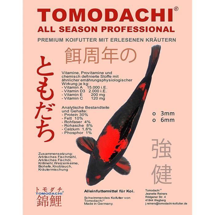 Tomodachi Koi Nourriture, Alimentation En Énergie, D'alimentation D'élevage, La Nourriture De Croissance Koi, Prime Toutes