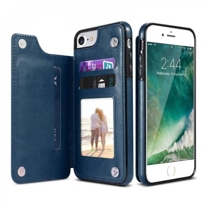 coque iphone 8 plus bleu turquoise