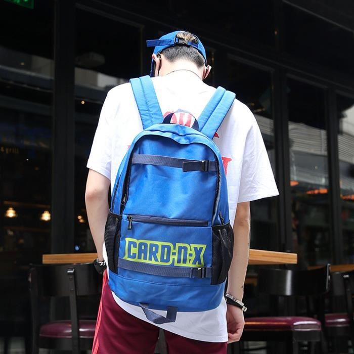 Couple School Tote Shoulder Oxford Backpack Cloth Color Pure Bag Mama8058 Student 80PrW8nB