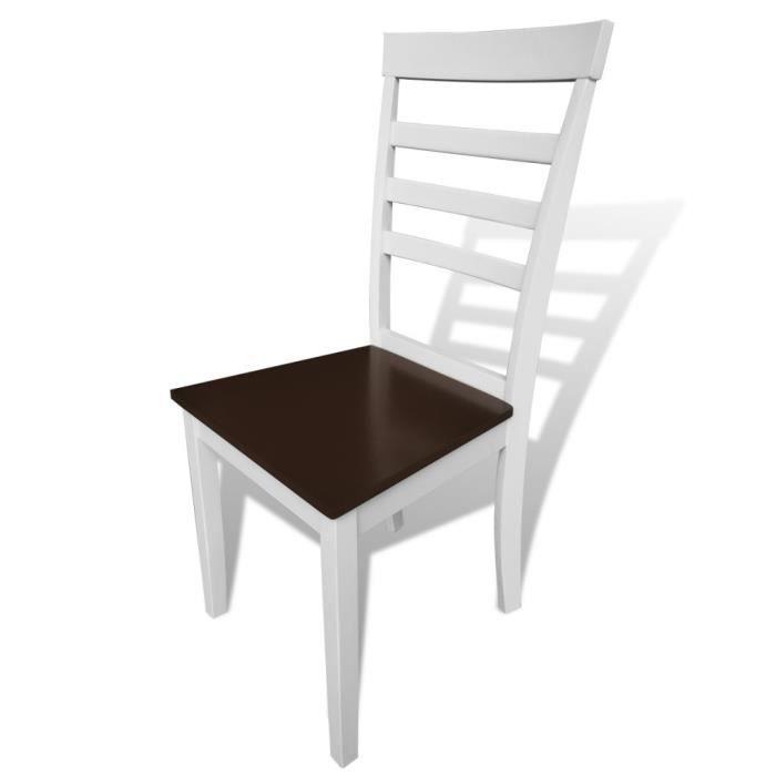 Chaise salle a manger pas cher lot de 6 lot de chaises de for Chaises salle a manger design pas cher