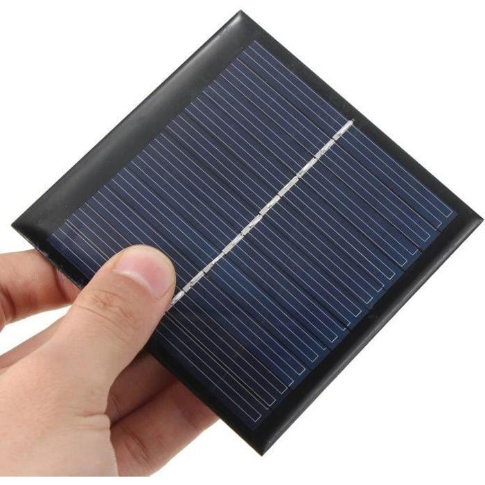 1w 5 5v panneau solaire petit module cellule pv pour les kits solaires bricolage achat vente. Black Bedroom Furniture Sets. Home Design Ideas