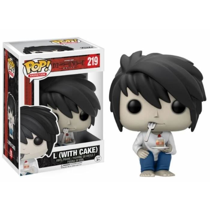 FIGURINE - PERSONNAGE Figurine Death Note - L with Cake Exclusive Pop 10