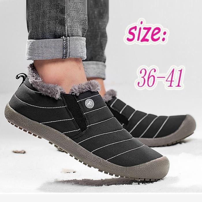 Bottes pour Mixtebleu 6.5 De nouvelles Chaussures Femme Produit hiver court chaussures imperméables chaudes_52958