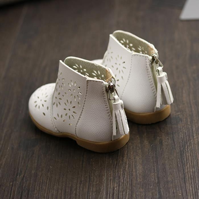 BOTTE Bébé respirant bébé Boot Girl chaussures d'été enfants enfants princesse chaussures@BlancHM oi9mG0