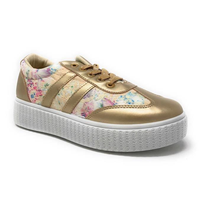 Fashion 42 Et T1ora Con Lacets Taille Sneaker u Confort lgant XHpRwqq