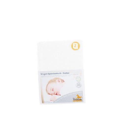 Pinolino 0D Drap Housse pour des Berceaux Tissu Eponge