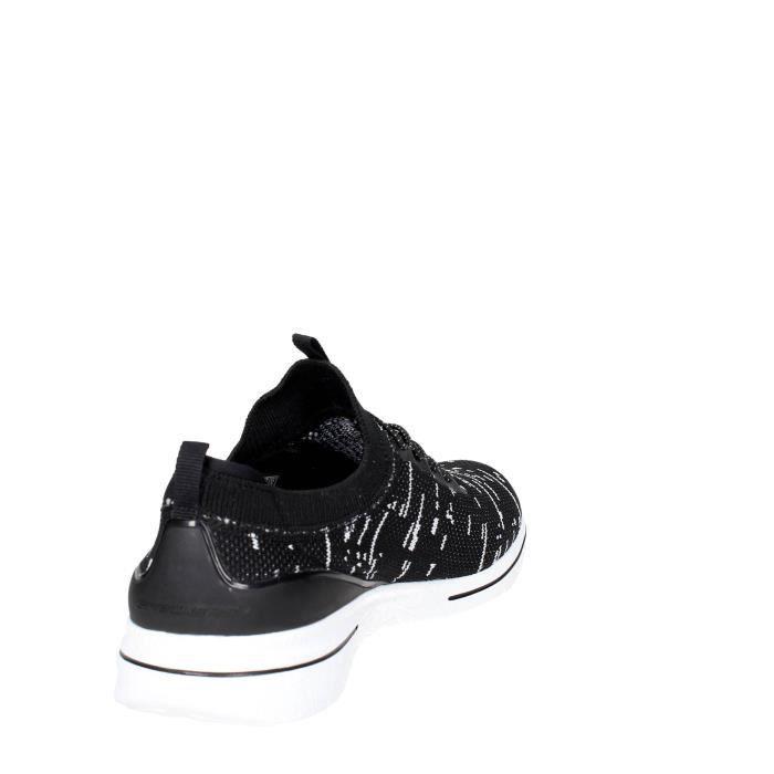 Skechers Slip-on Chaussures Femme Noir/Blanc, 39