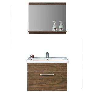 MEUBLE VASQUE - PLAN Ensemble meuble et vasque 60cm meubles de salle de