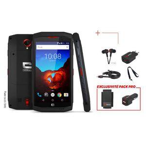 FORET - MECHE Pack PRO Smartphone CROSSCALL TREKKER-X3 Accessoir