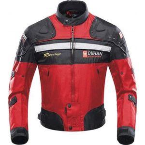 BLOUSON PRO Veste de Moto, Blouson Moto Homme Sport avec Armur