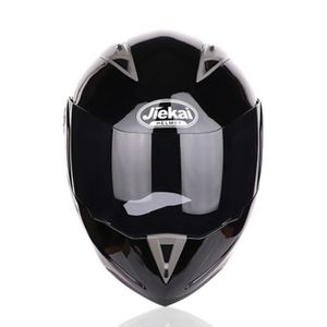 CASQUE MOTO SCOOTER Casque de Moto de marque luxe Casque intégral Doub