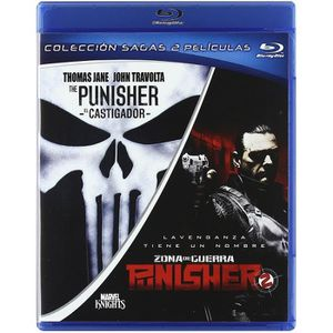BLU-RAY FILM The Punisher + Punisher: War Zone (PACK COLECCION