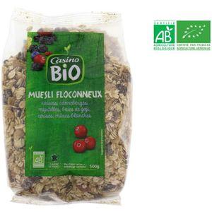 MUESLI Muesli floconneux aux fruits rouges - 500 g