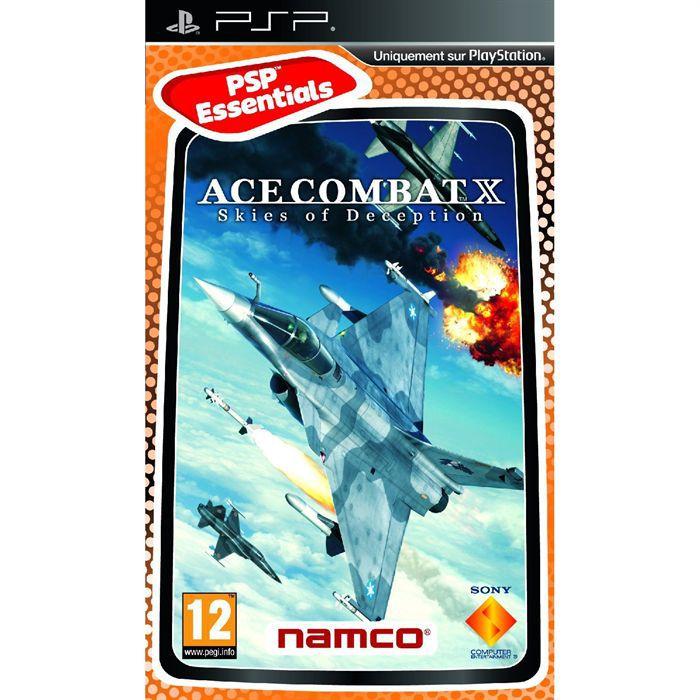 JEU PSP Ace Combat X Skies of Deception Essential / PSP